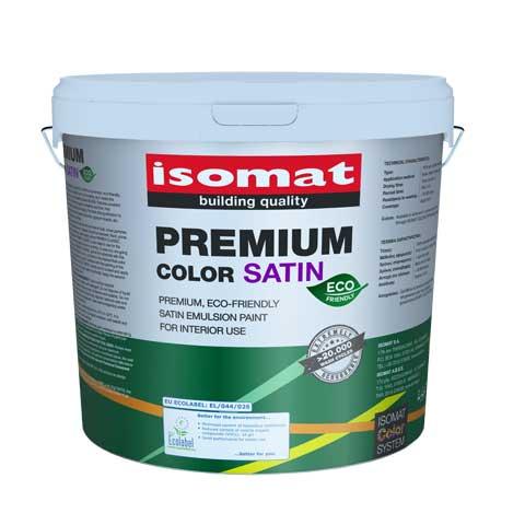 ISOMAT-Premium color eco satin - Premijum, ekološka, unutrašnja emulziona boja sa mat završnim izgledom