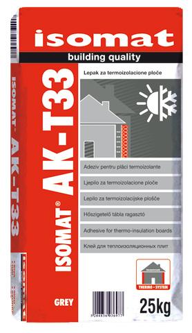 ISOMAT AK T-33 - Lepak za termoizolacione ploče