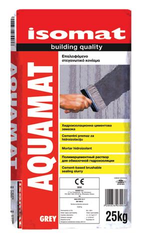 AQUAMAT - Cementni hidroizolacioni premaz