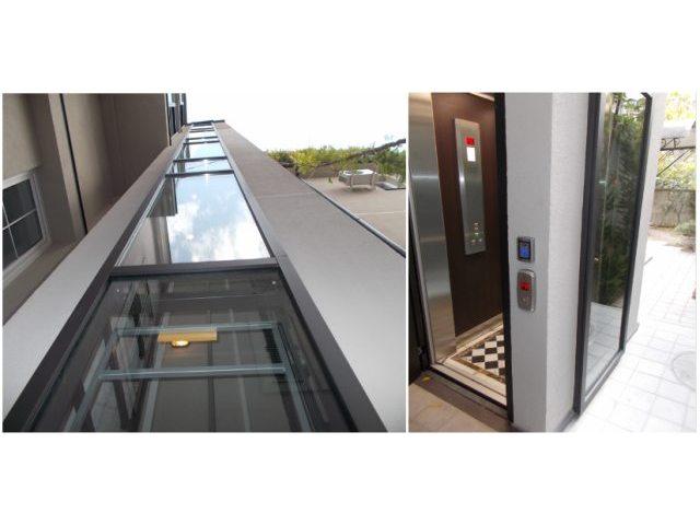 Stambena zgrada, Beograd, Srbija - Električni, putnički lift, tip Atlas Mini