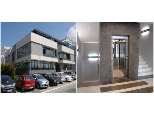Poslovni objekat Delta inženjering, Beograd, Srbija - Električni, putnički lift, tip Atlas Basic