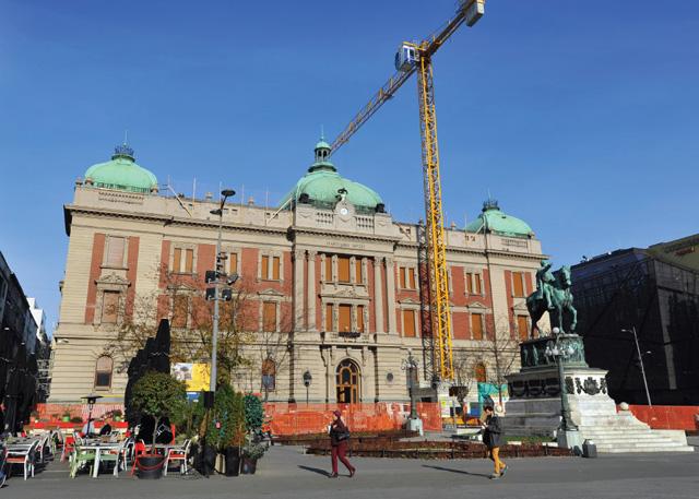 Narodni Muzej, Beograd - Restauracija, sanacija i adaptacija kompletnog objekta, 2018.