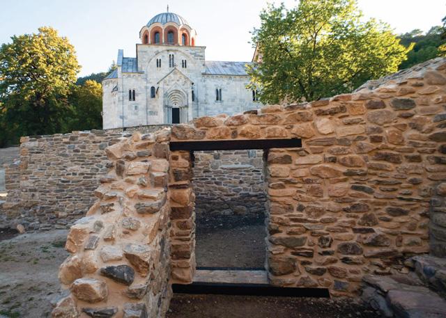 Manastir Studenica - Konzervacija i prezentacija građevina II i III u severnom delu manastira, 2012.