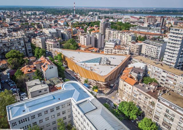 Palilulska pijaca, Beograd - Projektovanje i izgradnja objekta pijace, 2018.