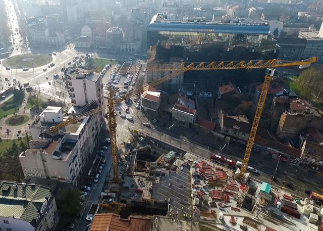 """Hotel """"Hilton"""", Beograd - Izgradnja poslovnog objekta - hotela, 2018."""