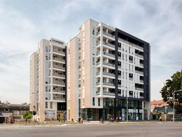 Futoška 57, Novi Sad - završetak radova 2018 - 8975m² - arhitekta: Lazar Kuzmanov; foto: Relja Ivanić