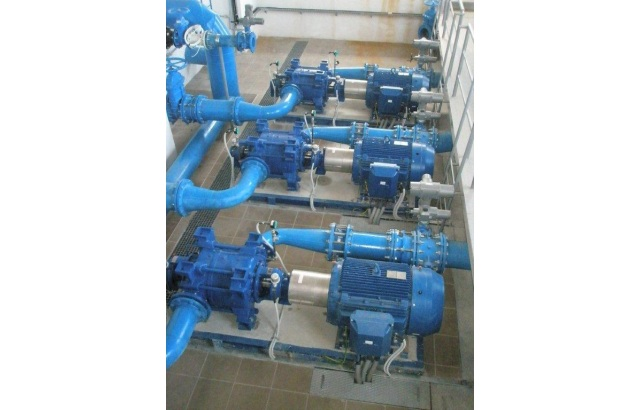Vogel pumpe, 3 x 160kW
