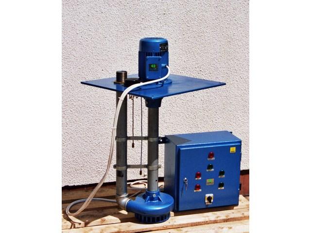 Drenažna pumpa sa komandnim ormanom za automatski rad preko nivo sondi