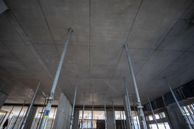 Dokadek 30 betonska ploča posle uklanjanja oplate