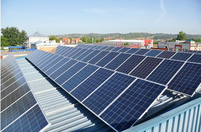 Konstrukcija za solarne panele