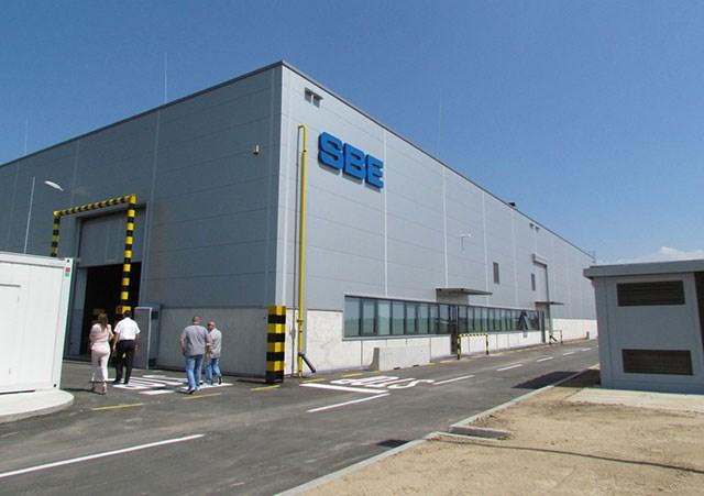 """Fabrika """"SBE SERBIA"""" u Šapcu - Površina: P=7.00ha"""