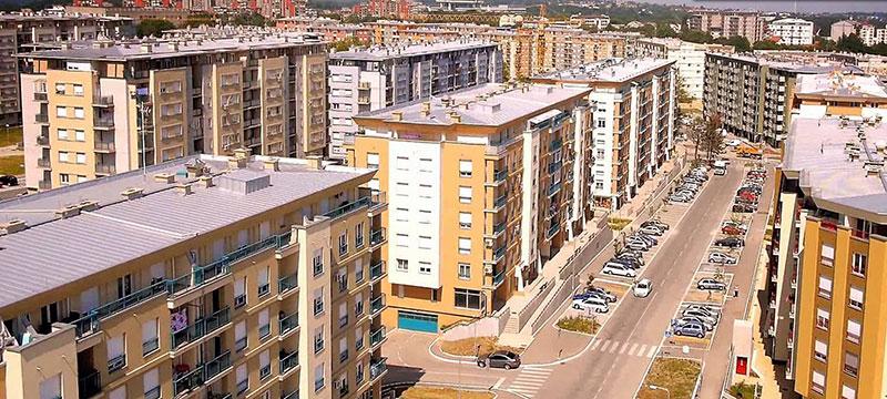 """Stambeno naselje """"Vojvoda Stepa Stepanović"""", Beograd - Površina: P=24.000,00m2"""