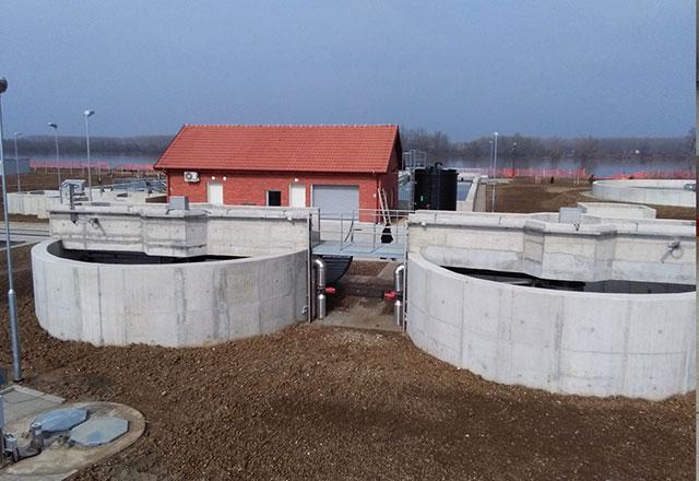 Postrojenje za prečišćavanje otpadnih voda, Šabac - Površina: P=3.50ha