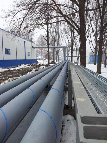 Cevni most za toplovod i rashladni sistem FCA
