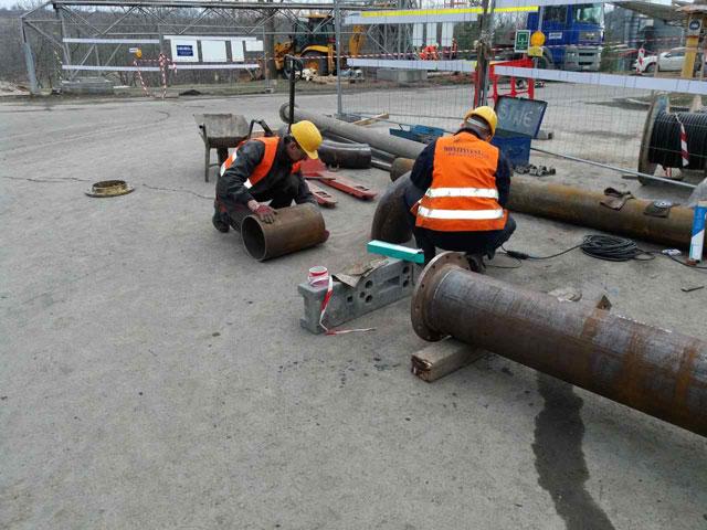 Izrada i montaza gasovoda