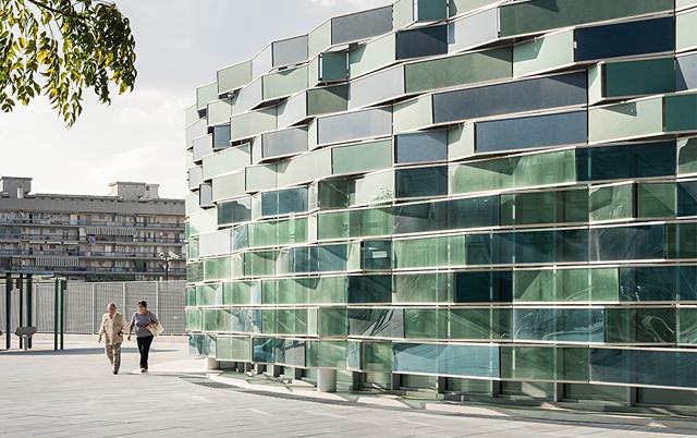 Fasadni paneli-Poslovna zgrada Ospedale del Mare, Italija