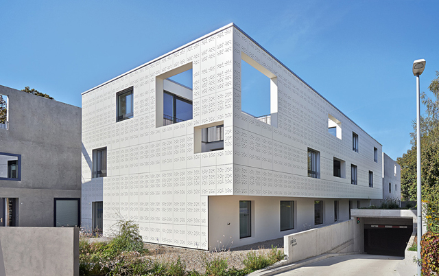 Fasadni paneli-Stambeni objekat, Švajcarska