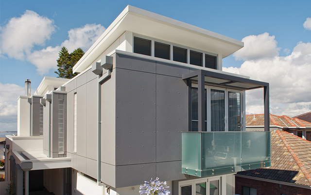 Fasadni i krovni paneli-Stambeni objekat, Australija