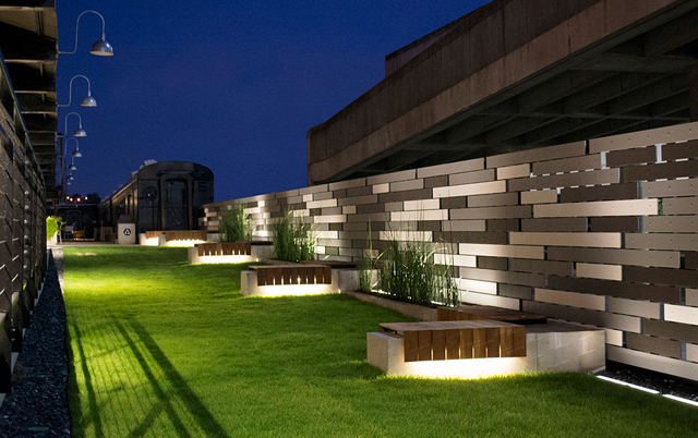 Fasadni paneli-Linearis paneli-Poslovni objekat, SAD