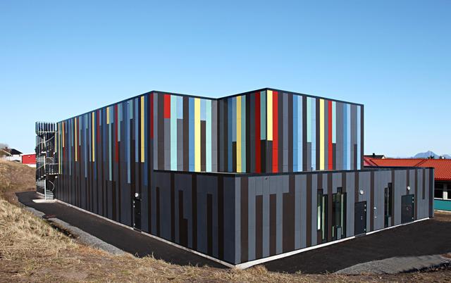 Fasadni paneli-Objekat mešovite namene, Norveška