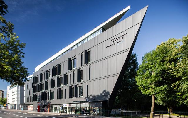 Fasadni paneli-Poslovna zgrada Jet office, Poljska
