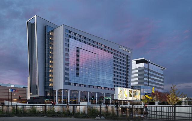 Fasadni paneli-Poslovna zgrada Mall of America, SAD
