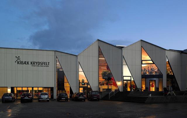 Fasadni paneli-Sportska hala, Danska
