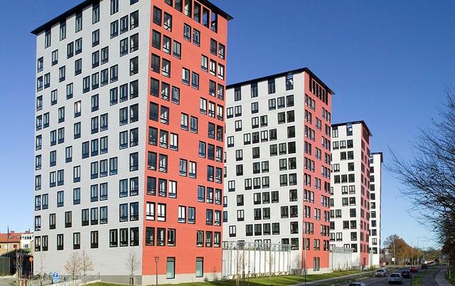 Fasadni paneli-Stambene kule, Švedska