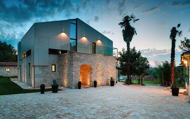 Fasadni paneli-Stambeni objekat Villa Martinuzzi, Hrvatska