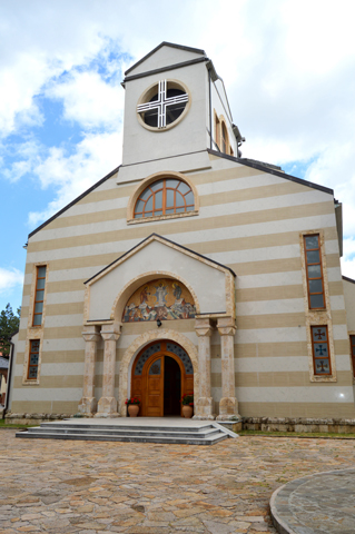 Hram Svetog Preobraženja Gospodnjeg, Zlatibor