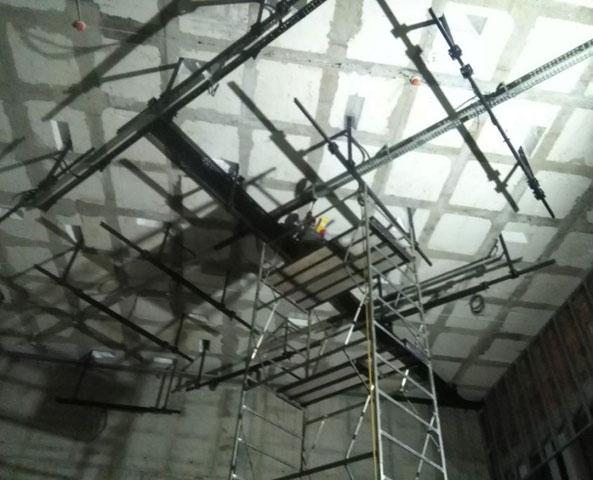 Elektroinstalacije sistema scenske mehanike, osvetljenja i opšte potrošnje koncertnih i sala za konferenciju i video projekciju