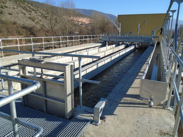 Postrojenje za preradu otpadnih voda u Kičevu