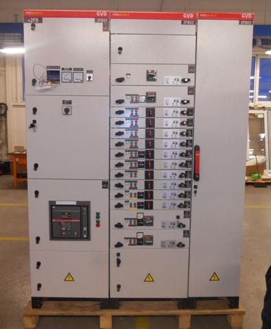 Rekonstrukcija glavnih razvoda i podrazvoda 0,4kV blokova - Kasetno-postrojenje
