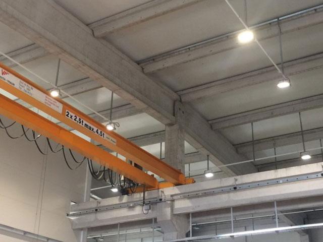 Elektroenergetske instalacije proizvodne hale D-Company, Babušnica