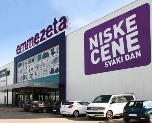 Elektroenergetske instalacije poslovno-prodajnog prostora Emmezeta - Preljina