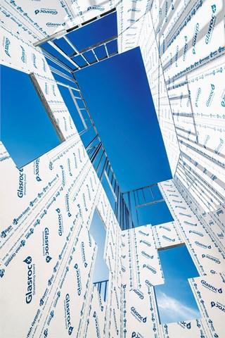Glasroc X ploča otporna na vlagu i buđ za upotrebu u fasadnim sistemima