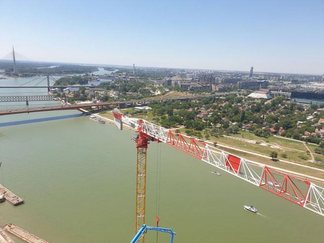 Kula Belgrade - Potain MDT389