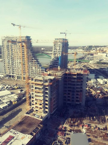POTAIN dizalice serije MDT gradilište Beograd na vodi, plot18