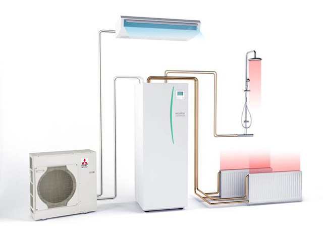 Toplotne pumpe vazduh voda Mitsubishi Electric - Jedinstveno efikasno rešenje za grejanje, hlađenje i pripremu tople sanitarne vode