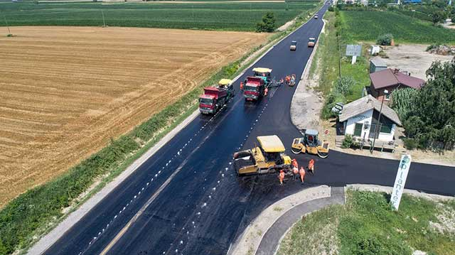 Ruma-Irig - asfaltiranje deonice
