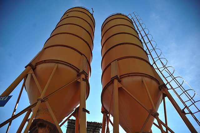 Sremput - betonska baza