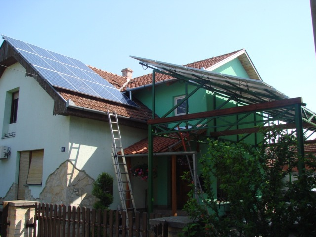 Solarna elektrana na nadstrešnici