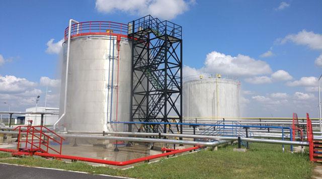 NIS GAZPROM, Elemir - Izvođenje sistema protivpožarne zaštite