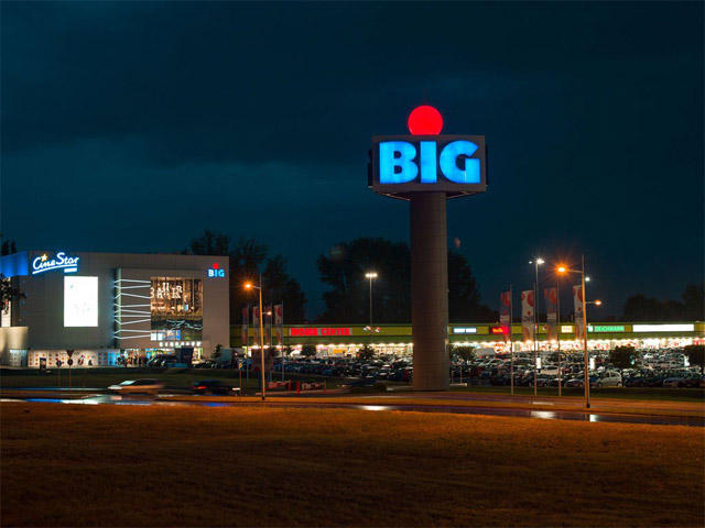 Komercijalno-poslovni centar BIG CEE, Novi Sad, 2012-2014.