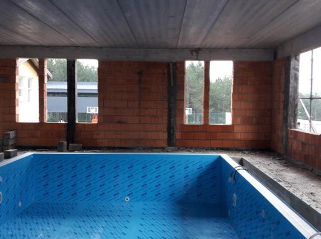 Montaža bazena - pripremni radovi
