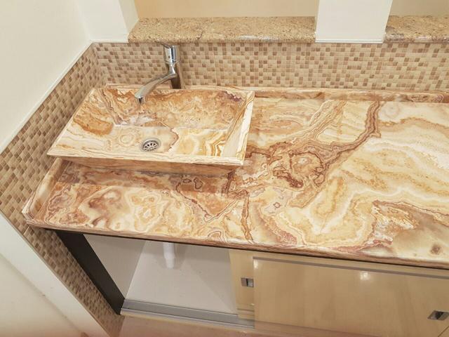 Izrada lavaboa i ploče - privatan objekat