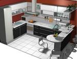 Kuhinja u privatnoj kući u Nišu
