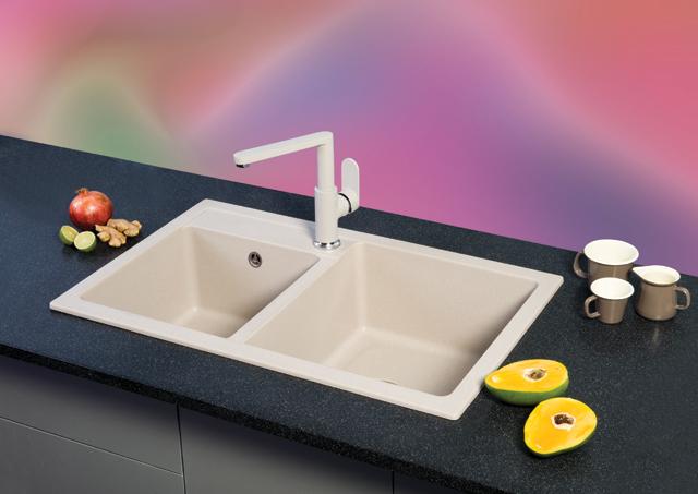 Granitne sudopere - XQuadro 2D