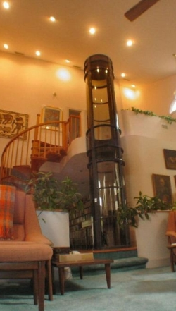 Vakuumski lift u dnevnoj sobi