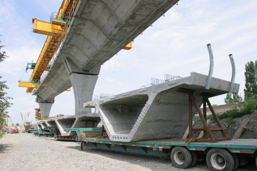 Betonski most u izgradnji